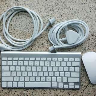 蘋果電源轉換器長線,keyboard ,mouse