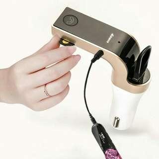 CARG7 -  FREE LED BLUETOOTH CAR FM TRANSMITTER MP3 CAR CHARGER
