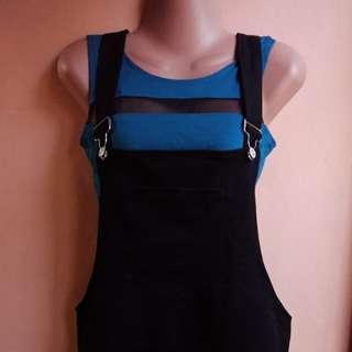 Jumper Skirt with Front Pocket