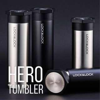 SALE Lock & Lock Hot & Cool Hero Tumbler