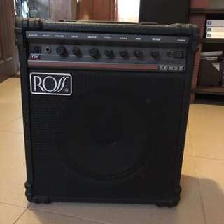 Guitar amplifier, ROSS