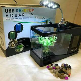 USB deasktop aquarium