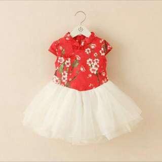 Kids Cheongsam Dress ( Instock )