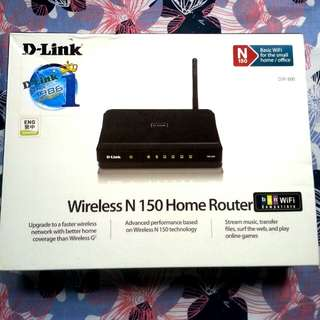 D .LINK...  Wireless N150 home Router