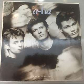 "a-ha ‎– Stay On These Roads (Extended Remix), 12"" Single Vinyl, Warner Bros. Records ‎– 920 901-0, 1988, Germany"