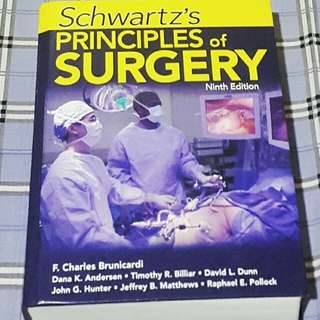 Schwartz Principles of Surgery