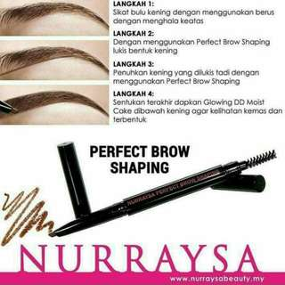 Perfect Brow Shaping for Hijab Muslimah