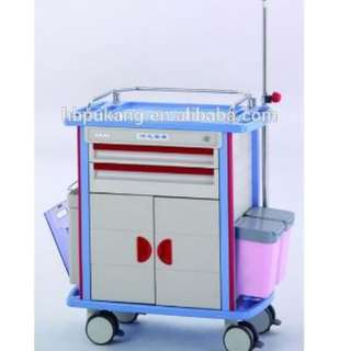 F45-2 Emergency Crash Cart (deluxe )