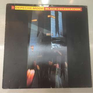 Depeche Mode ‎– Black Celebration, Grey Vinyl LP, Mute ‎– INT 146.818, 1986, Germany