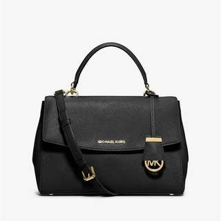 Ava Medium Saffiano Leather Satchel