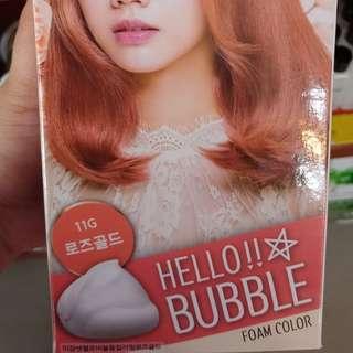 HELLO BUBBLE HAIR FOAM COLOR