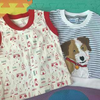 Take All Preloved Tops for Baby Boy