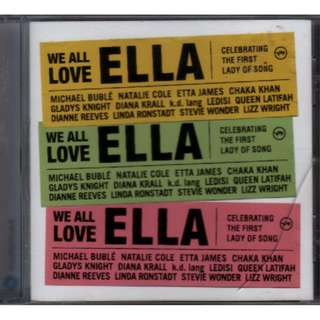 We All Love Ella Celebrating The First Lady Of Song cd