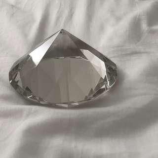 Diamond/Crystal Paperweight or Home Decor