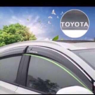 Customized Rain Visor for all cars