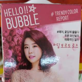 HELLO BUBBLE HAIR FOAM COLOR