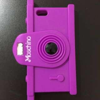 moschino purple case ip6