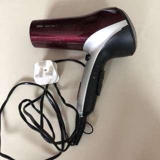 PL Braun Hairdryer