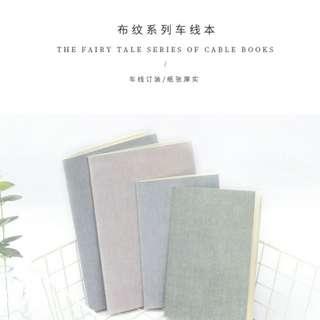 (PO) #S02 Korea Plain Muji Harujuku Notebook