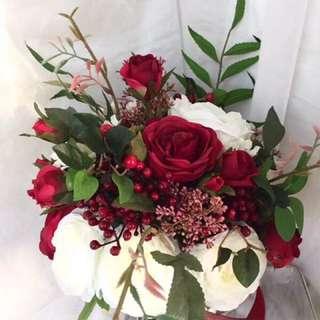結婚歐式花球
