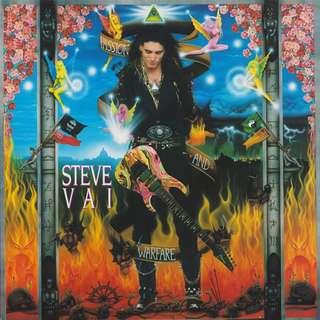 Vg+ nm Steve vai record vinyl passion and warfare