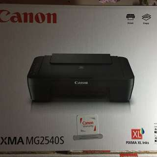 Canon printer with scanner