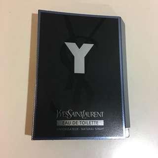 YSL Y for man EDT 1.2ml