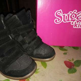 Sugar kids Loren Sneaker wedge size 33 shoes