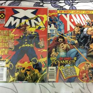 X Man Single Issues Set (Key Issue)