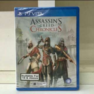 PS Vita Assassin's Creed Chronicles