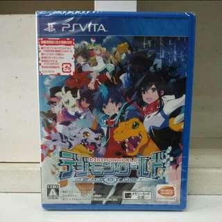 PS Vita Digimon World Next Order Jap