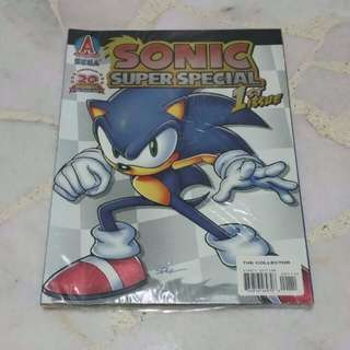 "Archie ""Sonic Super Special"" 1st Issue Comic (Sonic 20th Anniversary)"