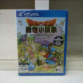 PS Vita Dragon Quest Builders Chinese Version