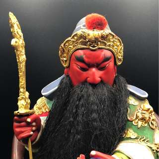 GUAN GONG WOODEN DISPLAY