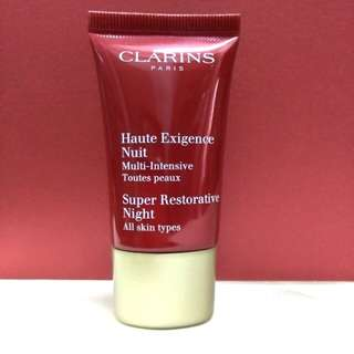 clarins super restorative night 15ml