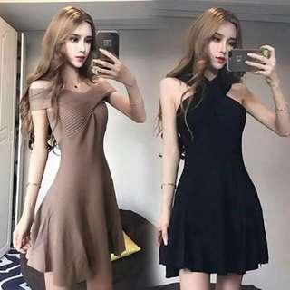 3-WAY KNITTED DRESS