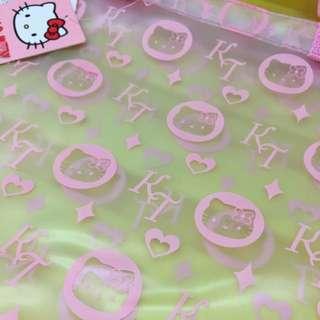 防水沙灘袋 Hello Kitty