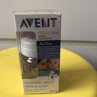 Avent baby bottle 4oz/125ml