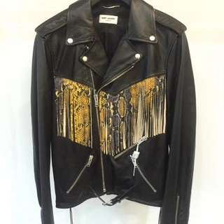 SAINT LAURENT PARIS LEATHER JACKET *K