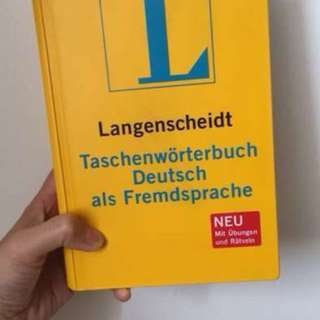 Brand new german dictionary