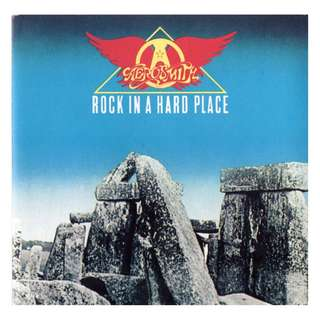 Aerosmith ‎Rock In A Hard Place cd