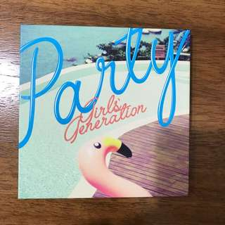 少女時代 迷你專輯 [Party] Girls Generation Mini Album [Party]
