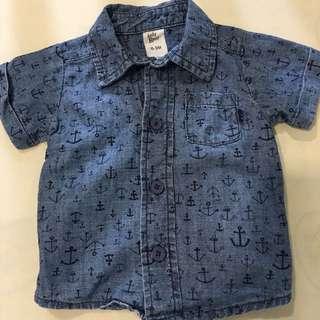 Brand new Oshkosh shirt for 0-3 months