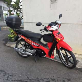 Honda Wave125 Register year 2013