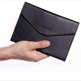 日本MonoMax日文雜誌附錄Aquascutum多功能分類收納護照包旅行包手機卡片包長夾零錢包公事包