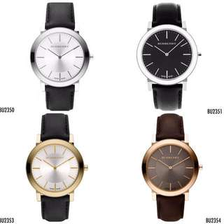 🆕Burberry Heritage Classic Men Leather Watches
