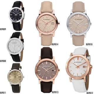 🆕Burberry The City Unisex Leather Watches