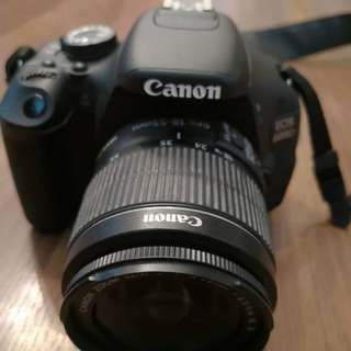 Canon EOS 600D+ EFS 18-15mm lenses