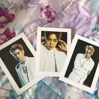 EXO PHOTO CARD [ 17.3 cm x 12.2 cm ]