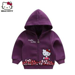 Authentic Hello Kitty Ribbon Fleece Jacket